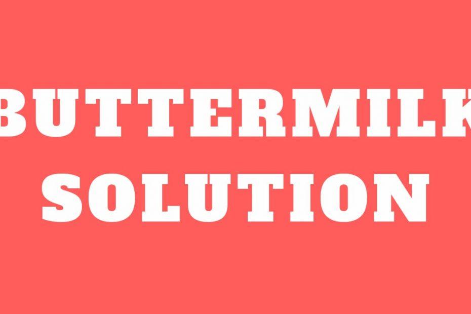 Buttermilk_solution