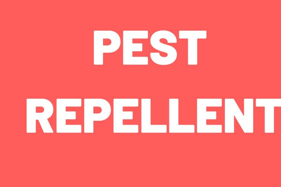 pest repellent